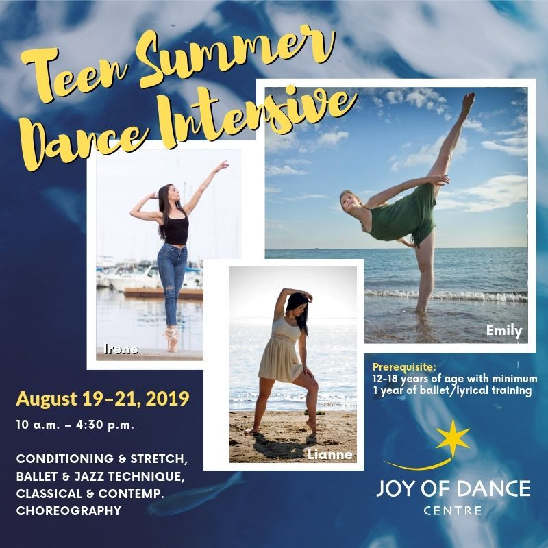 Teen Summer Dance Intensive